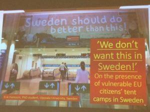 Erik Hansson on Roma camps in Sweden