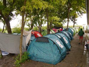 Tents at Subotica
